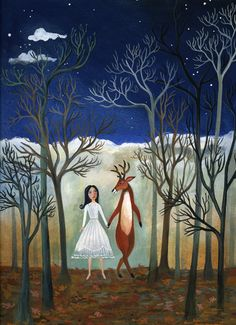 Meet me in the forest tonight and we shall dance by pale moonlight