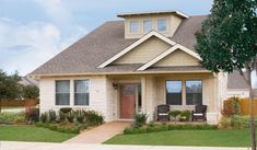 Cottage Style House Plan - 4 Beds 4 Baths 2308 Sq/Ft Plan #472-9