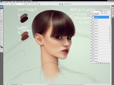 Muddy Colors: How to Digitally Paint Hair