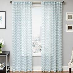 Frazzle Window Curtain Panel