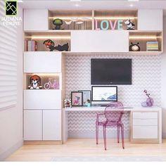 Amazy Modern Minimalist Living Room Design Ideas for Inspiration Study Room Design, Study Room Decor, Home Room Design, Home Office Design, Home Office Decor, Kids Bedroom Designs, Living Room Designs, Small Room Bedroom, Bedroom Decor
