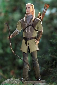 Ken® Doll as Legolas in The Lord of the Rings: The Fellowship of the Rings | The Barbie Collection