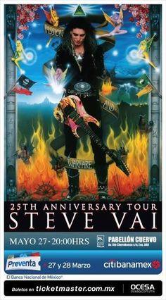Steve Vai celebra 25 años de Passion and Warfare | Pólvora, La Explosión del Rock