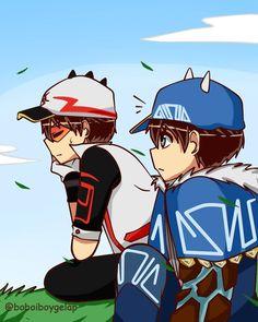 Galaxy Movie, Anime Galaxy, Boboiboy Galaxy, Boboiboy Anime, Anime Chibi, Kawaii Anime, Gravity Falls Anime, Boat Drawing, Ash Pokemon