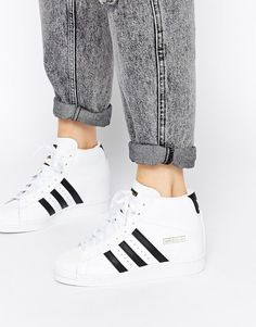sports shoes 9677b 630d5 adidas Originals Superstar Concealed Wedge White High Top Trainers