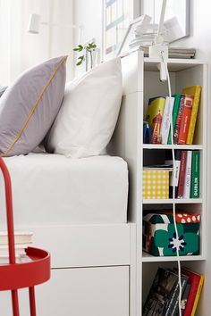 Ikea Has All of the Space-Saving Furniture Your Small Bedroom Needs For Cheap! Ikea Bedroom Furniture, Small Living Room Furniture, Small Space Living Room, Space Saving Furniture, Apartment Furniture, Home Decor Furniture, Furniture Ideas, Modern Furniture, Outdoor Furniture
