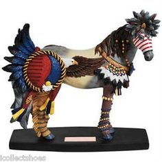 Horse of A Different Color 20352 EAGLE SPIRIT, Mustang Figurine #89 of 10k
