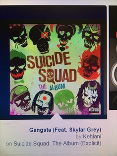 Shop Suicide Squad: The Album [CD] [PA] at Best Buy. Find low everyday prices and buy online for delivery or in-store pick-up. Heathens Twenty One Pilots, Ty Dolla Ign, Lil Wayne, Imagine Dragons, Fall Out Boy, The Wiz, Movies To Watch, Squad, Cool Things To Buy