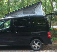 NV200 Evalia Tekna - Minicamper und Mobilbüro - Mini Camper and Mobile Office