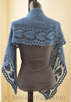 Hearts Shawlette - New Pattern Coming Soon! SweaterBabe.com, visit on Pinterest for more patterns