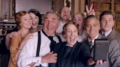 George Clooney takes over 'Downton Abbey' in hilarious charity video
