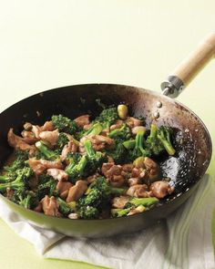 Chicken-and-Broccoli Stir-Fry Recipe