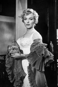 Marilyn Monroe in The Prince And The Showgirl, 1956.
