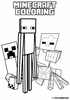 Minecraft-coloring-mob.jpg (1131×1600)