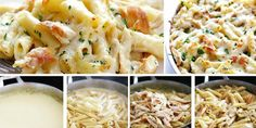 Pasta Recipes, Cooking Recipes, Other Recipes, Pasta Salad, Macaroni And Cheese, Mozzarella, Food Porn, Food And Drink, Yummy Food