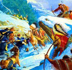 Mark Beerdom guardó en American Indian War Art  Fetterman massacre