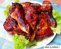 Kurczak pieczony w coca-coli - Kobieceinspiracje.pl Polish Recipes, World Recipes, Tandoori Chicken, Poultry, Grilling, Pork, Food And Drink, Cooking Recipes, Dishes
