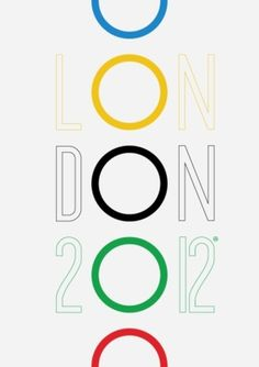 2012 london olympics poster. by rosa