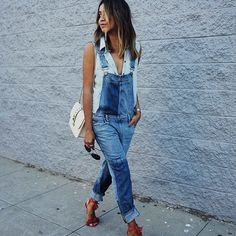 How to Style Overalls | POPSUGAR Fashion
