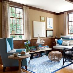 Decorating With Blue On Pinterest Coastal Colors
