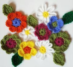 A treat before launch day....These pretty spring flowers & leaves are available now!  Link in bio.  Perfect for use in various projects.....they would make cute additions to the Fusilli Warmer or Changing Tides hat! Flowers are available in sizes Largemedium and small.  #spring #flowers #leaves #ravelry #crochet #crochetpattern #patternbythelinenleaf #crochetersofinstagram #instacrochet #crochetgeek by the_linen_leaf