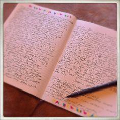 writing journal