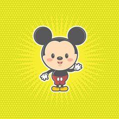 Kawaii Mickey Mouse by Jerrod Maruyama, via Flickr