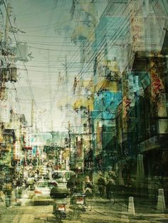 Stephanie Jung's Cityscape Photographs Are Chaotic
