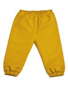 Pantalonki Honey Yellow, Projektant: Pan Pantaloni, Wartość: 98 zł, Radość z bycia matką: bezcenne. Powyższy materiał nie stanowi ofery handlowej