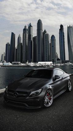 Luxury Sports Cars, Top Luxury Cars, Sport Cars, Black Mercedes Benz, Mercedes Benz Autos, Mercedes Benz Logo, Nissan Gtr 35, Wallpaper Carros, Mercedes Benz Wallpaper