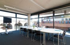 The Hive is a flexible Meetings & Workshop venue for hire in London. The Venue has eight meeting rooms as well as a studio that is ideal for conferences or presentations. Conference, Workshop, Training, London, Table, Room, Furniture, Home Decor, Bedroom