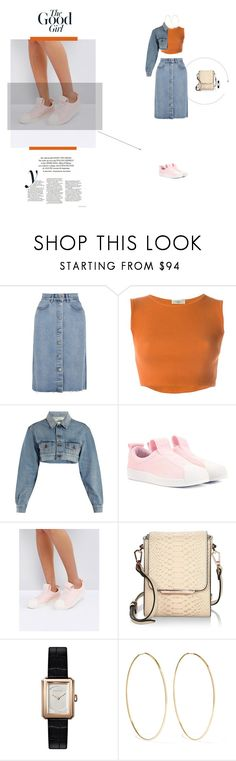 """The good girl"" by naudad ❤ liked on Polyvore featuring M.i.h Jeans, Romeo Gigli, Off-White, adidas Originals, adidas, Kendall + Kylie, Chanel and Magda Butrym"