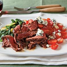 Grilled Balsamic Skirt Steak Menu