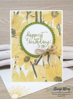Stampin'Up! Delightful Daisy