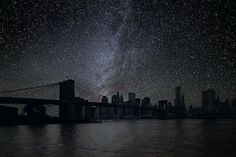 """""""Darkened Cities"""" by Thierry Cohen"""