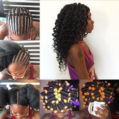 Crochet braids love (voiceofhair: HAIRSPIRATION| Love this...)