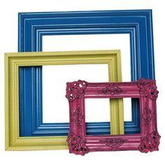 3 Piece Delia Frame Vignette Set