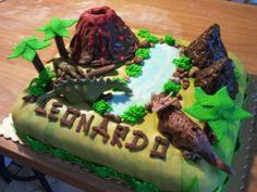 Centomilaidee: Tutorial Torta Dinosauri