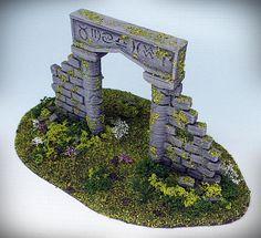 Fish Tank Design, Hirst Arts, Warhammer Terrain, Diy Table Top, Game Terrain, Medieval Houses, Wargaming Terrain, Halloween Village, Tabletop Games