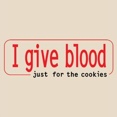 We don't care what your motivations are for donating -- we're just grateful that you're saving lives!