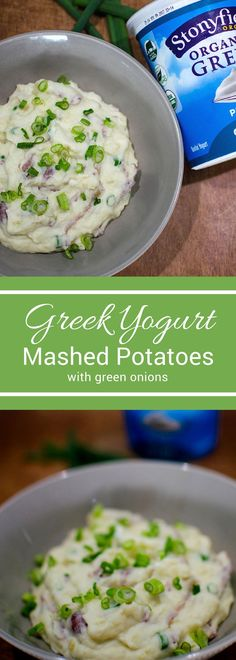 Lighten up your holiday meals with these Greek Yogurt Mashed Potatoes! This healthy alternative will be a hit at any holiday party!