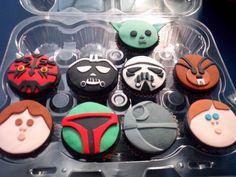 Starwars cupcakes... guatemala
