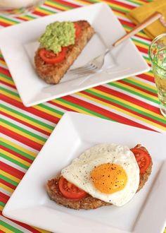 dejeuner mijoteuse pain viande avocat tomates oeuf