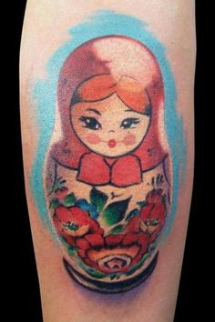 i'm enjoying the unlined tattoos (my russian nesting dolls look identical to this one)