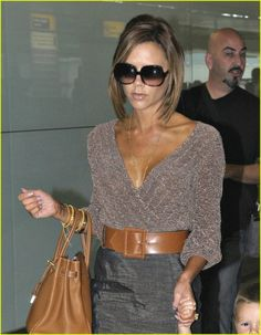 I love Victoria Beckham's style. It's always sophisticated but sexy. Love it.
