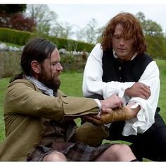 """Not in Scotland Anymore"" Jamie and Murtagh"