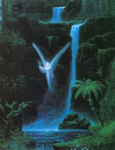 The Waterfall Fairy___Gilbert Williams