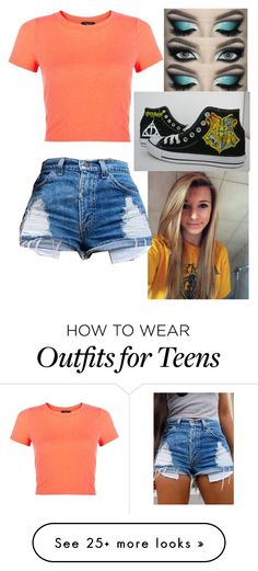 """""""another day another outfit"""" by tennesseegirl307 on Polyvore featuring Converse"""