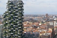 Completed in 2014 in Milan, Italy. Images by Laura Cionci, Stefano Boeri Architetti. The first example of a 'Vertical Forest' (il Bosco Verticale) was inaugurated in October 2014 in Milan in the Porta Nuova Isola area, as part of a...
