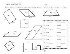 Area and perimeter math worksheets grade area perimeter 5 geometry an Education Quotes For Teachers, Quotes For Students, Quotes For Kids, Area And Perimeter Worksheets, Area Worksheets, Michelle Obama, Sixth Grade Math, Learning Quotes, Educational Technology